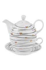 Набор чайный Сердечки