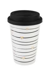Стакан для чая/кофе «Сердечки»