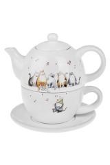 Набор чайный Милые котики