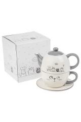 Набор чайный «Котики»