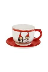 Чайная пара новогодняя Гномики