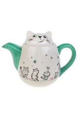 Чайник заварочный Смешные котики