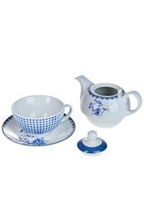 Набор чайный Синие цветы