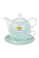 Набор чайный Золотое сердце