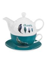 Набор чайный Счастливые перышки