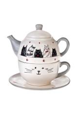 Набор чайный Котики