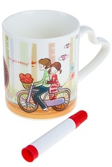 Кружка На велосипеде