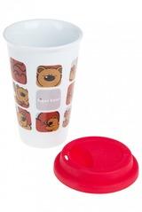 Стакан для чая/кофе Влюбленный мишутка