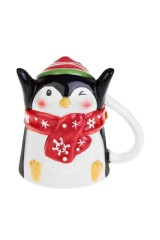 Кружка новогодняя Счастливый пингвин
