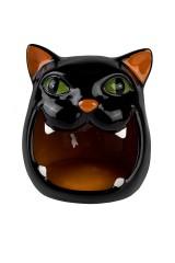 Ваза сервировочная Черный кот