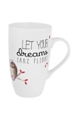 Кружка Мечтающие совушки