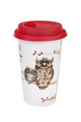 Стакан для чая/кофе Мечтающие совушки