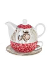 Набор чайный Мечтающие совушки