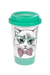 Стакан для чая/кофе Деловой кот
