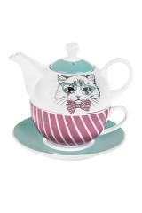 Набор чайный Деловой кот