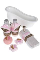Набор туалетный для ванны Ванночка - дамасская роза