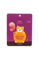 Маска тканевая с морским коллагеном Animal mask series - Cat
