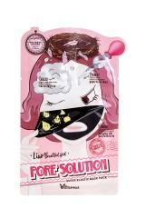 Маска для лица 3-step pore solution mask