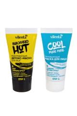 Набор масок для лица Hot Blackhead and Cool Pure Pore