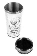 Термокружка с крышкой Кофе на двоих