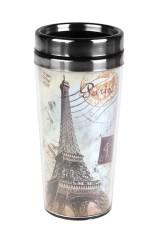 Термокружка с крышкой Прекрасный Париж