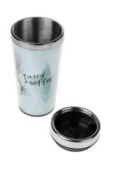 Термокружка с крышкой Мне нужен кофе