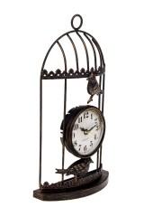 Часы настольные Птички в клетке