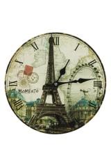Часы настенные Достопримечательности Парижа