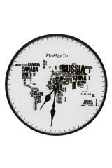 Часы настенные Страны-континенты
