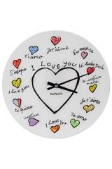 Часы настенные Я люблю тебя