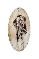 Часы настенные Пес Счастливчик
