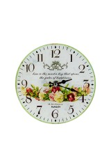 Часы настенные/настольные Цветочная корона