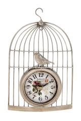 Часы настенные Птичка в клетке