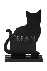 Доска-мемо Черный кот