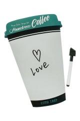 Доска-мемо магнитная Стаканчик кофе