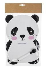 Доска-мемо магнитная Панда