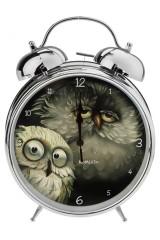 Часы настольные Сонные совушки