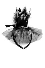Обруч на голову маскарадный для взрослых Полуночная принцесса