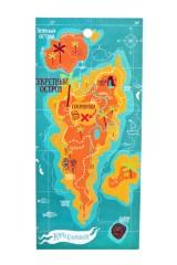 Полотенце пляжное Карта сокровищ