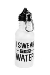 Фляжка спортивная Клянусь, это вода