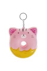 Брелок-сквиш Розовый котик