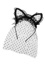 Обруч на голову маскарадный для взрослых Кошечка
