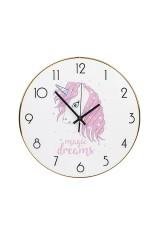 Часы настенные Единорожка