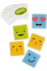 Игра настольная семейная карточная Мемори Смайлики