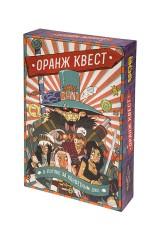 Игра настольная стратегическая Оранж Квест: В погоне за Конфетным Джо
