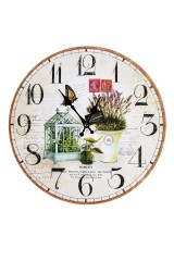 Часы настенные Лаванда