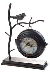 Часы настольные Птичка на ветке