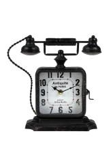Часы настольные Старинный телефон