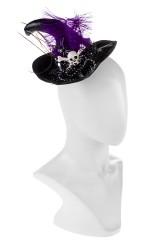 Шляпа маскарадная для взрослых Мисс Ведьма