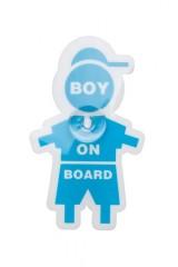 Знак автомобильный Мальчик в машине